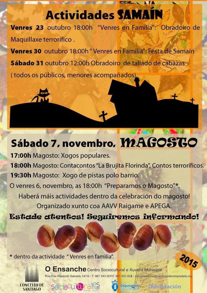 Cartel Samaín e Magosto